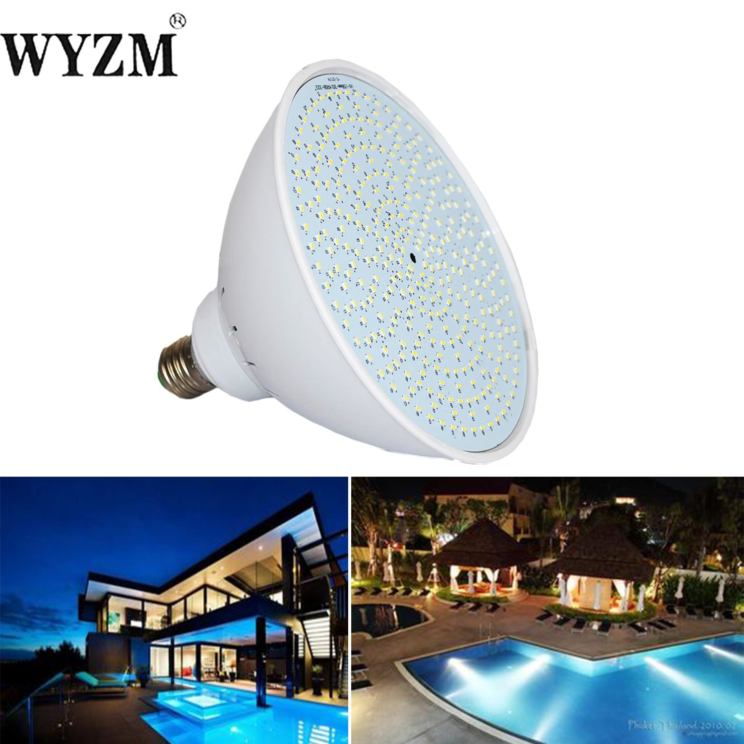 Get Quotations Wyzm 120v 35watt Color Changing Led Pool Light Bulb For Inground Fit In