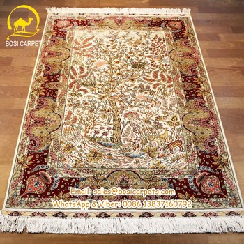 Top Quality 3x5 Hand Made Handknotted Persian Silk Rug