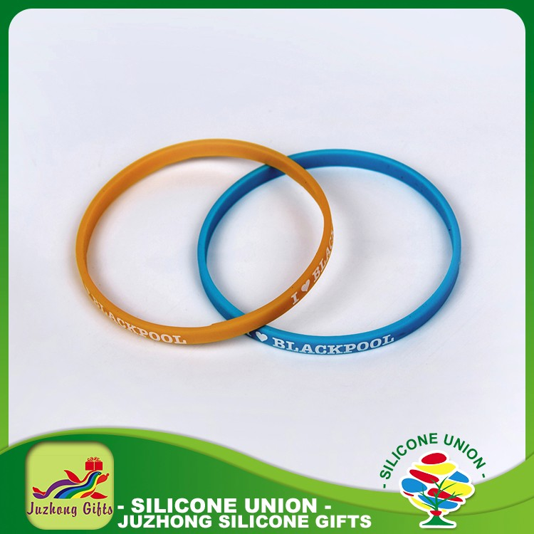 Corporate gifts private label manufacture rubber custom silicone bracelets