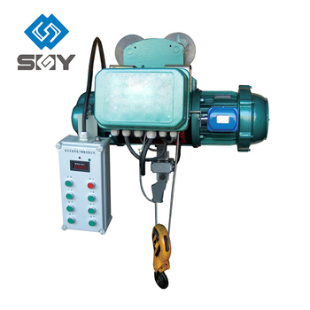 Electric Wire Rope Construction Hoist With CE/GOST/ISO