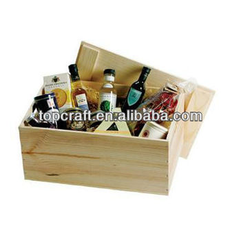 Extra Large 50cm Wooden Box With Lid For Storage Trunk,Display ...