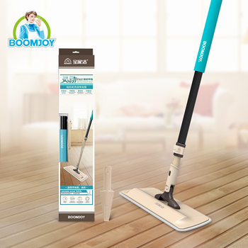 BOOMJOY 360 Rotating Easy Cleaning Dust Magic Floor Flat Mop For House Cleaning