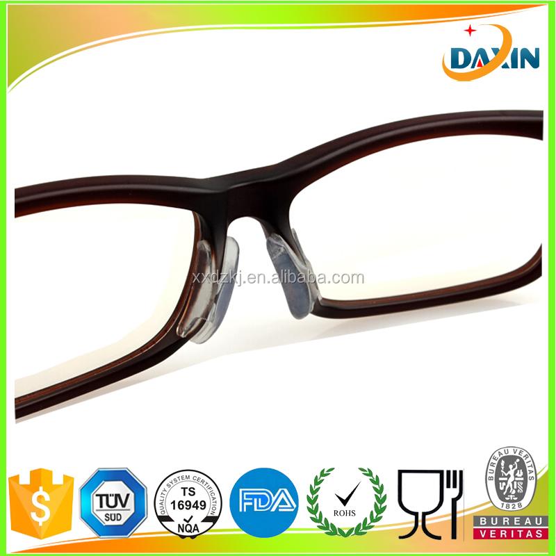 Plastic Frames Glasses Non Slip Silicone Nose Pads - Buy Glasses ...
