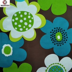 Mattress fabric 100% polyester printed mattress bedding cloth MDLCH-J041