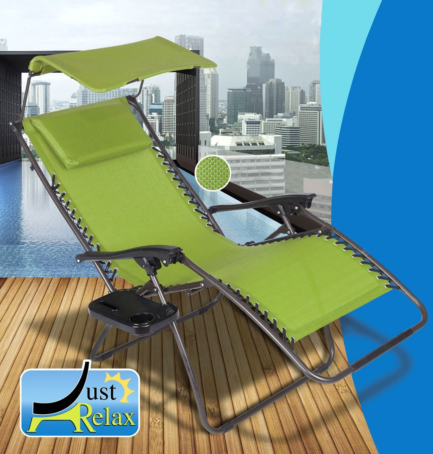 ... Just Relax Oversized Zero Gravity Chair with Pillow Canopy and Clip-On Table & Cheap Canopy Zero Gravity Chair find Canopy Zero Gravity Chair ...