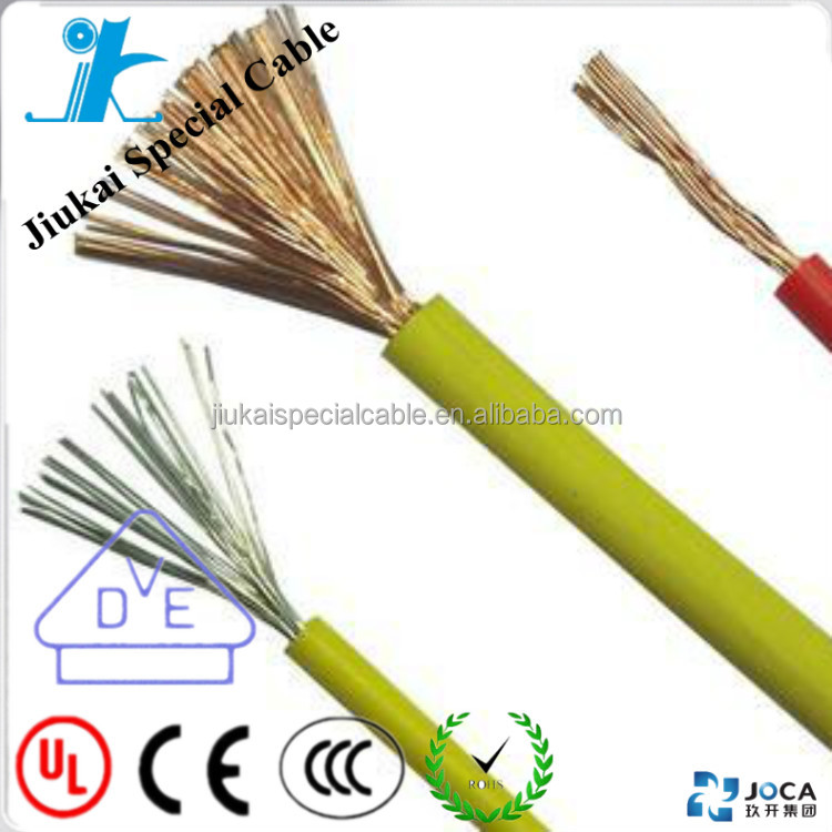 China factory UL1015 wire UL758, UL1581 and CSA C22.2 No.210.2