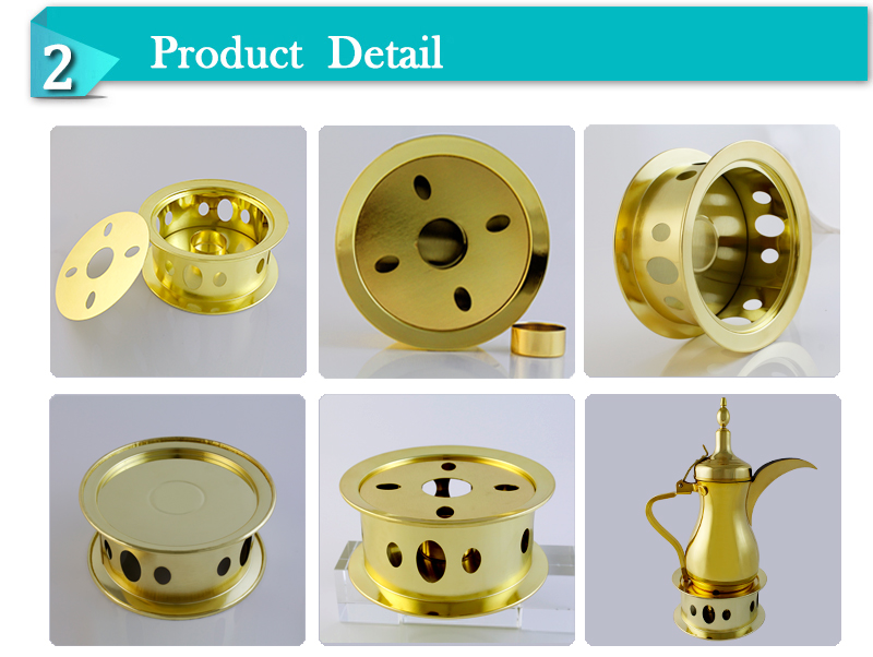 high quality stainless steel candle warmer for flask