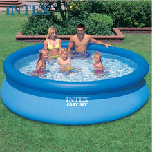 Intex Easy Set Inflatable Above Ground Pool Family Swimming Pool