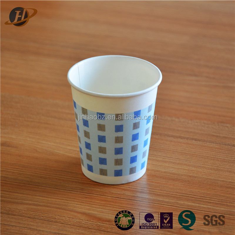 super mall customized 7oz paper cup Zhejiang manufacturer