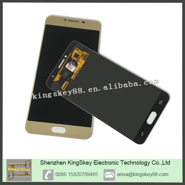 Wholesale Mobile Phone Spare Parts For Samsung Replacing Original LCD Screen For Samsung Galaxy C5 C5000 LCD Complete