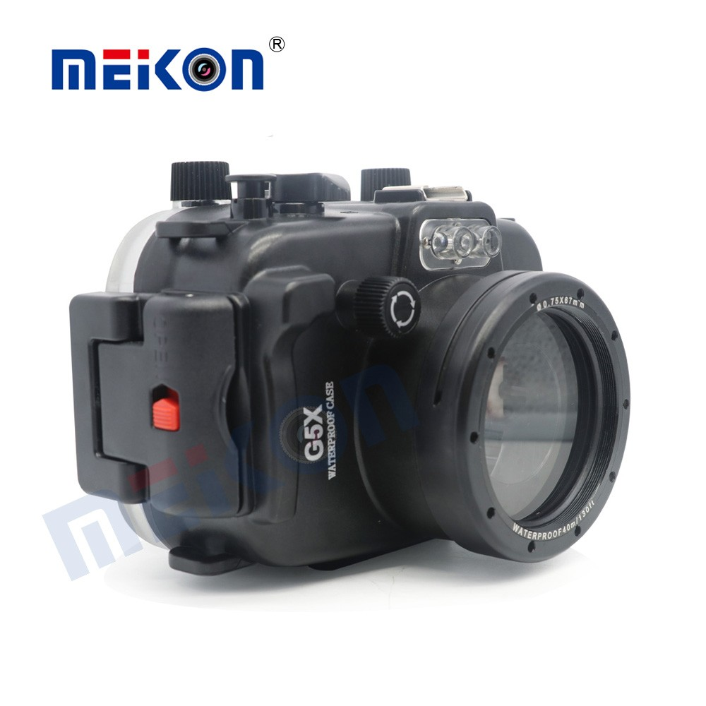 40-100m diving digital underwater camera housing for canon