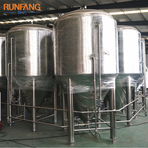 Stainless steel 304 Craft beer brewing used red copper fermentation tank