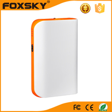 6000mah colorful portable battery charger LCD display power banks