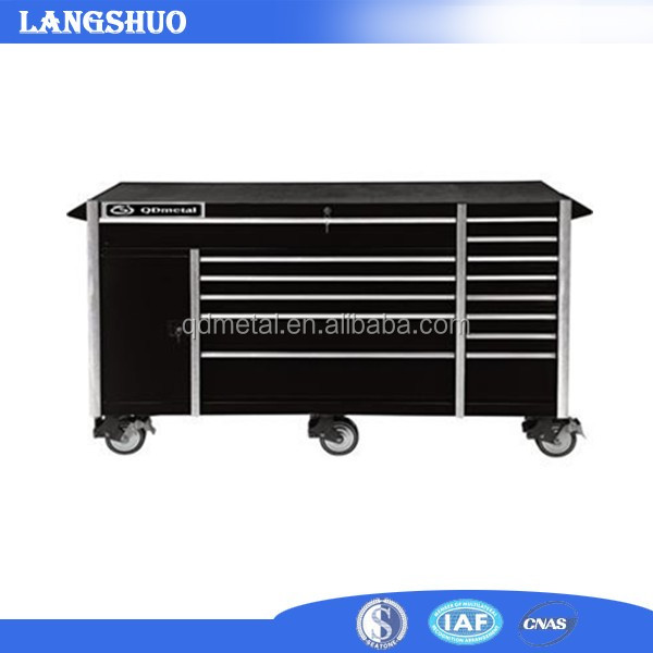 Stainless Steel Boxes Tool Trolleys For Garage Storage Systems