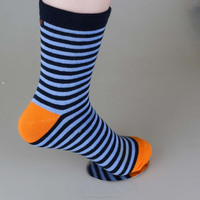 wholesale striped elite cotton running compression socks making machine price for men and women