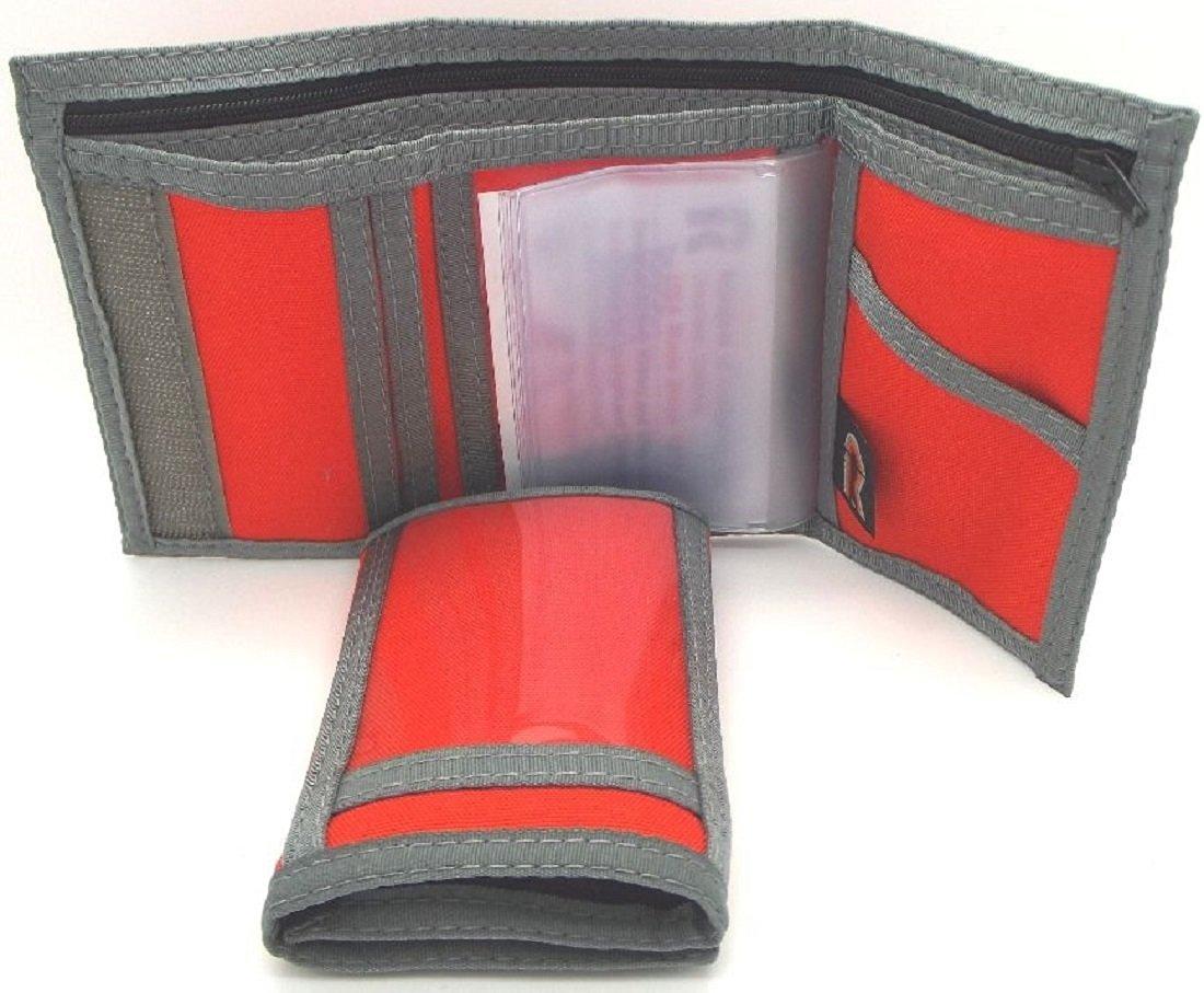 4472256898 Buy Nylon Trifold ID Wallet w/Outside & Inside ID. Hook & Loop. Made ...