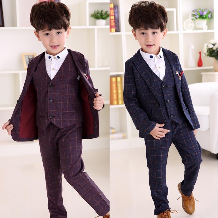 New Children Suit Baby Boys Suits Kids Blazer Boys Formal Suit For ...