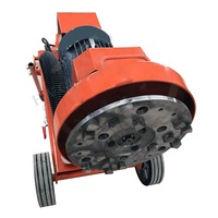 High speed marble concrete floor tile polishing machine