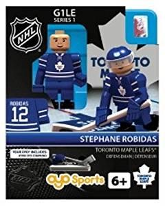 Stephane Robidas Oyo Toronto Maple Leafs Nhl Hockey Mini Figure Lego Compat G1