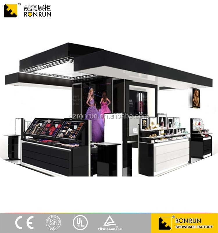 RCF1001 Modern Cosmetic Display Kiosk Shopping Mall Center