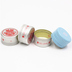 28mm ROPP metal aluminum pilfer proof cap for water glass bottle