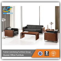 2016 New Design Modern Office Leather Sofa GAS4005