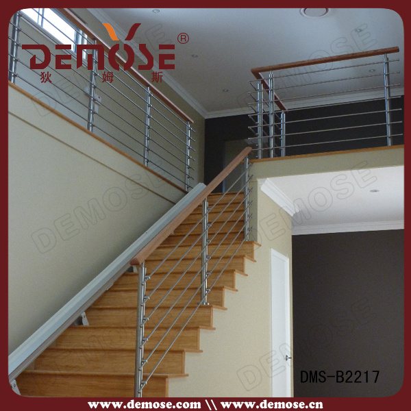 Modern Attic Stainless Steel Cable/wire Stair Railing/balustrade ...