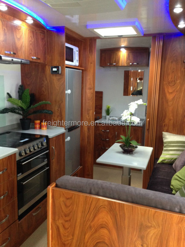 2015 latest mobile caravan for sale custom-made accepted
