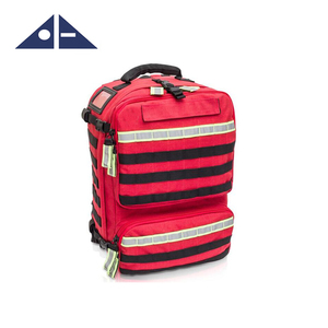 Medical Kit In Red Backpack Equipment