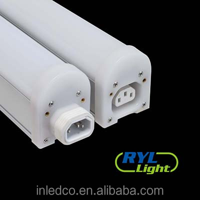 IP65 led tube 160 Wide angle gapless linkable Linear light fixture 150cm/65w/4000k