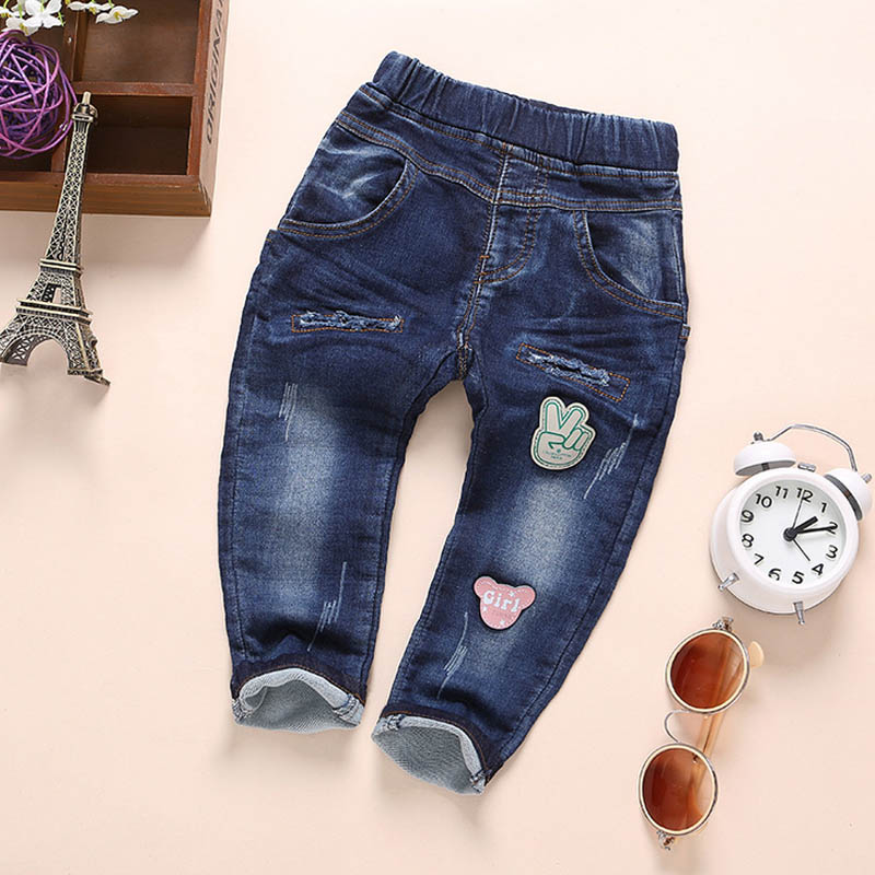Newest fashion kid boy wear wholesale baby clothes casual jeans pants