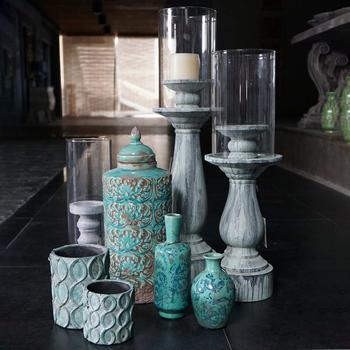 MK37 Antique Ceramic Jar Home Decor 2019 Wholesale Shabby Chic