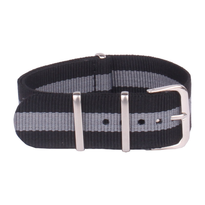 wach band New arrived - 1PCS High quality 22MM Nato strap Nylon Strap Watch band NATO straps watch strap 22 mm watchbands
