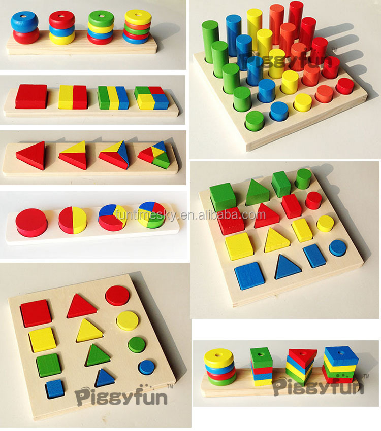 New Products 8 Pcs Teaching Montessori Materials In China