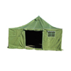 W0766 1 man used canvas military camouflage tent for sale