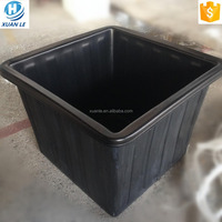 Custom made large size plastic flower pot with different color