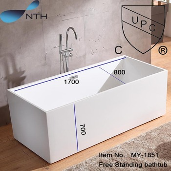 Acrylic Bath Shower Combo Oval Indoor Freestanding Bathtub View Nth Product Details From Foshan Taihe Sanitary Wares