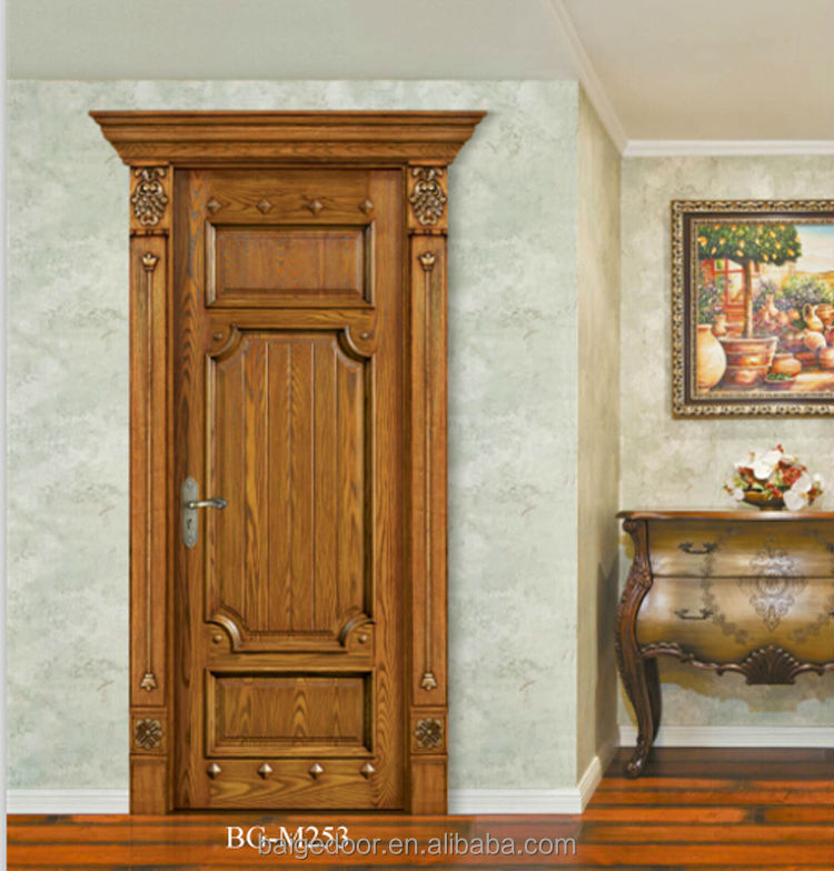 BG M205 mahogany solid wood door fancy wood door design simple design wood. Bg m205 Mahogany Solid Wood Door fancy Wood Door Design simple