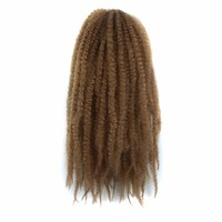 afro Braid in Kinky Marley Braiding Hair Twist Crochet Synthetic Braids Hair