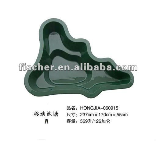 high quality Fiberglass garden ponds for koi