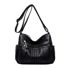 Горячая Распродажа, роскошные сумки, сумка через плечо, большой размер, Сумки из натуральной кожи для женщин, сумки-мессенджеры, женские сум...(Китай)