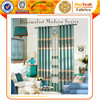 Polyester simple pattern jacquard curtain for dining room