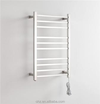 Ladder Handdoekenrek Badkamer/droogrek Elektrisch Verwarmde Handdoek ...