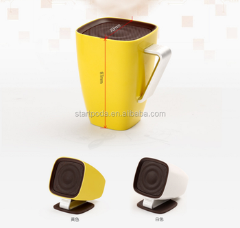 promotional rechargeable music cup audio speaker
