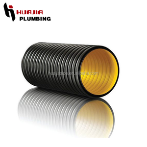 JH0590 drainage pipe corrugated suction hose corrugated sewage pipe