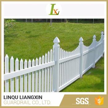 German Technology Manufacturing Decorative Plastic Garden Fence