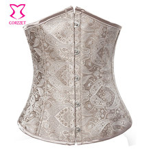 d5f65277102 Sexy Corset Underbust Tight Lacing Waist Training Corsets and Bustiers  Gothic Clothing Corpet Gotico Korsett For