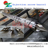 Injection screw barrel bimetallic injection screw & barrel for epoxy glue injecting moulding machine
