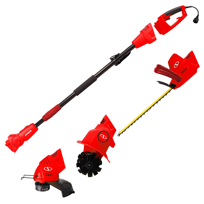 Get Quotations · Sun Joe GTS4000E-RED Lawn + Garden Multi-Tool System  (Hedge + Pole