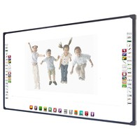 82'' Portable infrared whiteboard interactive smart digital board for classroom